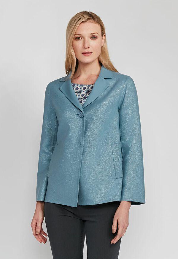 One Button Sparkle Jacket, image 4