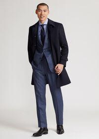 Single Breasted Super 180s Wool Coat, thumbnail 5