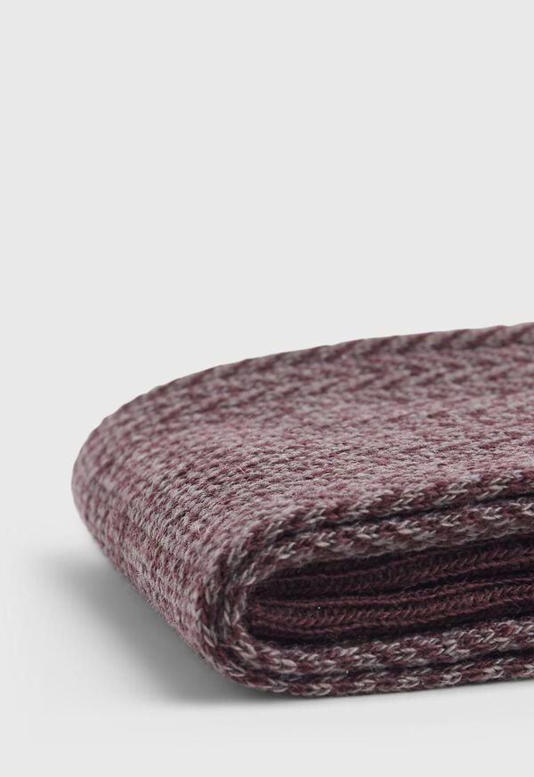 Wool Blend Herringbone Sock, image 4
