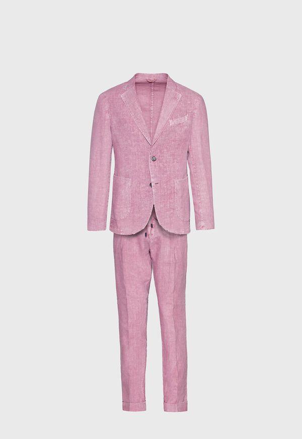 Solid Linen Suit, image 1