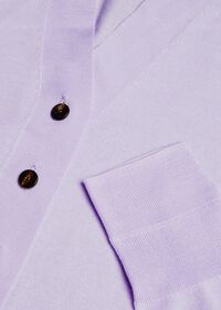Lightweight Wool Button Front Cardigan, thumbnail 2