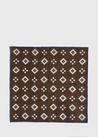 Linen Medallion Pocket Square, thumbnail 3