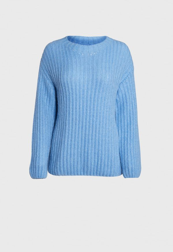 Ribbed Alpaca Blend Sweater