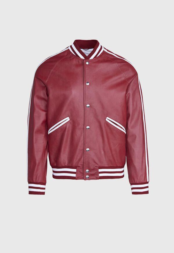 Crimson Bomber Jacket, image 1