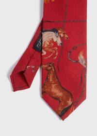 Running Horse Wool and Yak Tie, thumbnail 1
