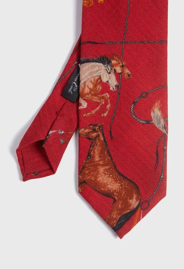 Running Horse Wool and Yak Tie, image 1