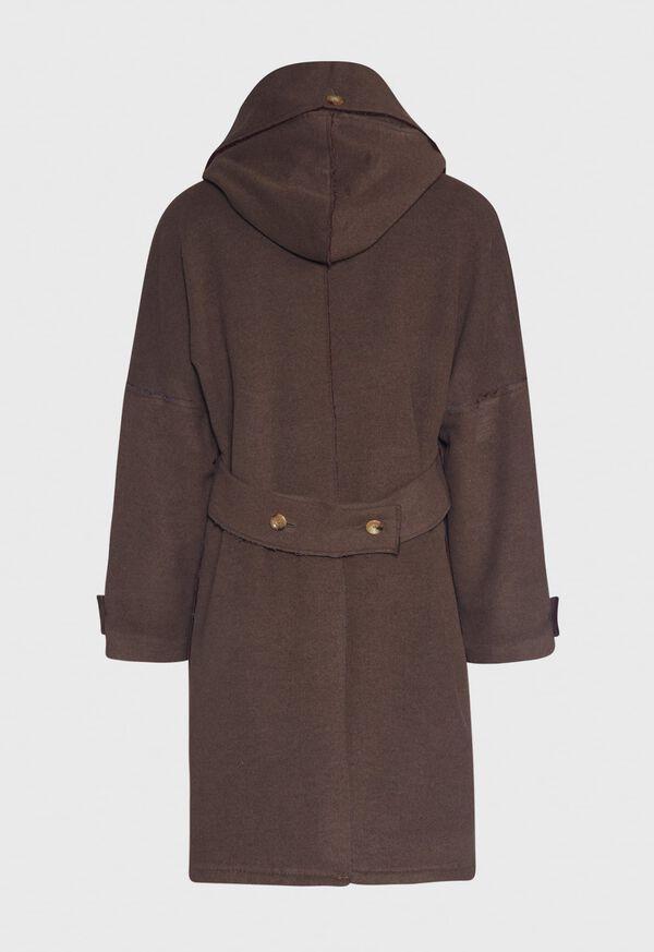 Brown & Burgundy Coat, image 2