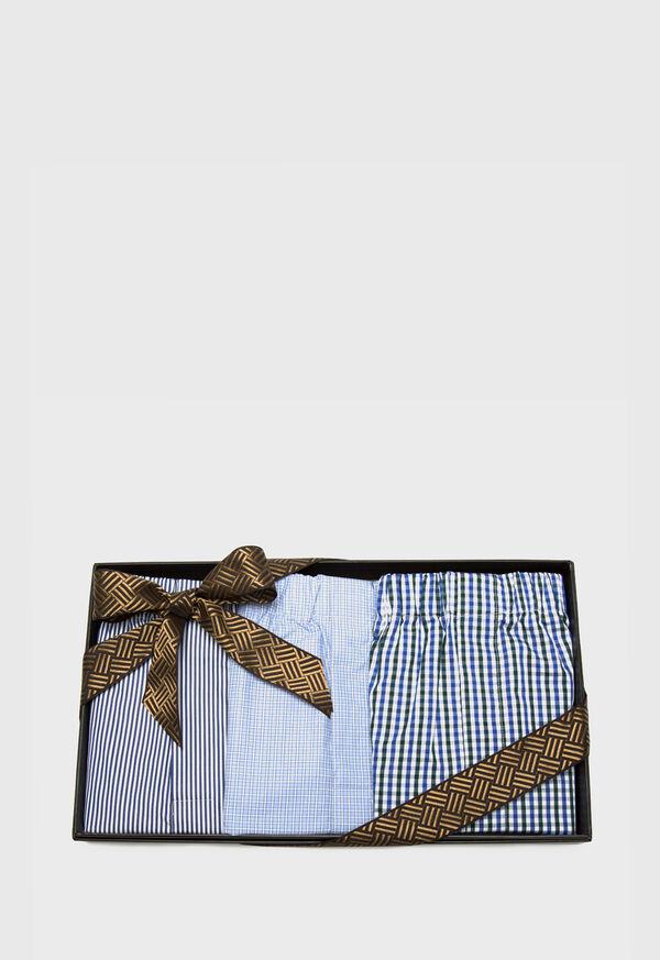 Assorted 3 Piece Boxer Shorts Set, image 1