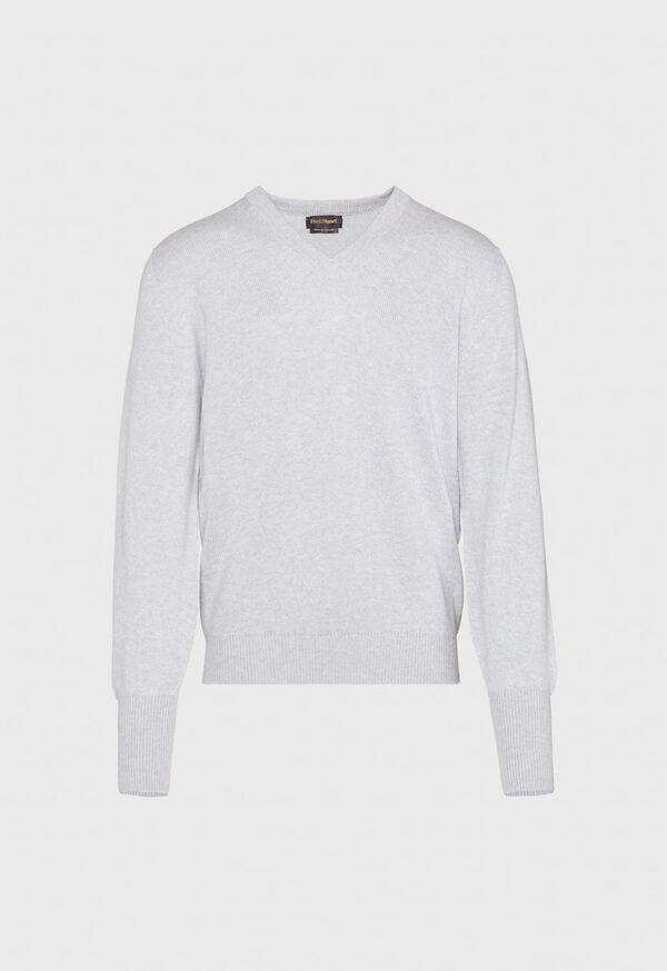 Scottish Cashmere V-Neck Sweater, image 12