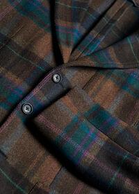 Horseblanket Brown Plaid Sport Coat, thumbnail 3