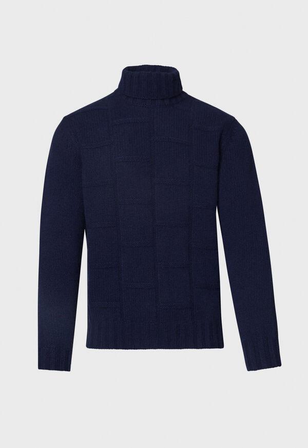 Tonal Patterned Sweater, image 1