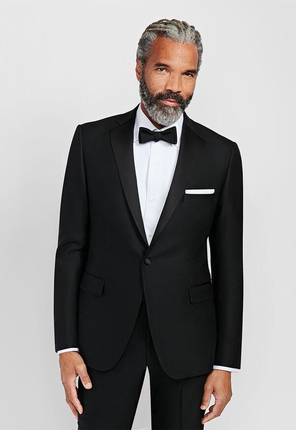 Black Italian Wool Tuxedo, image 2