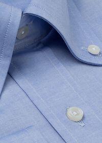 Blue Sea Island Cotton Dress Shirt, thumbnail 2