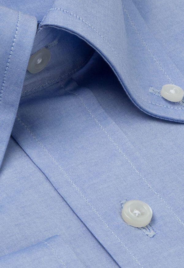 Blue Sea Island Cotton Dress Shirt, image 2