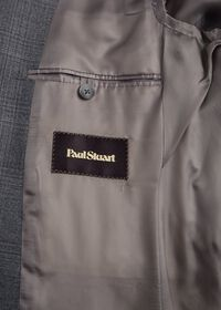 Grey Plaid Wool Suit, thumbnail 4