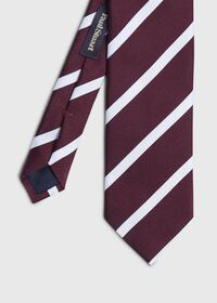 Stripe Silk Tie, thumbnail 1
