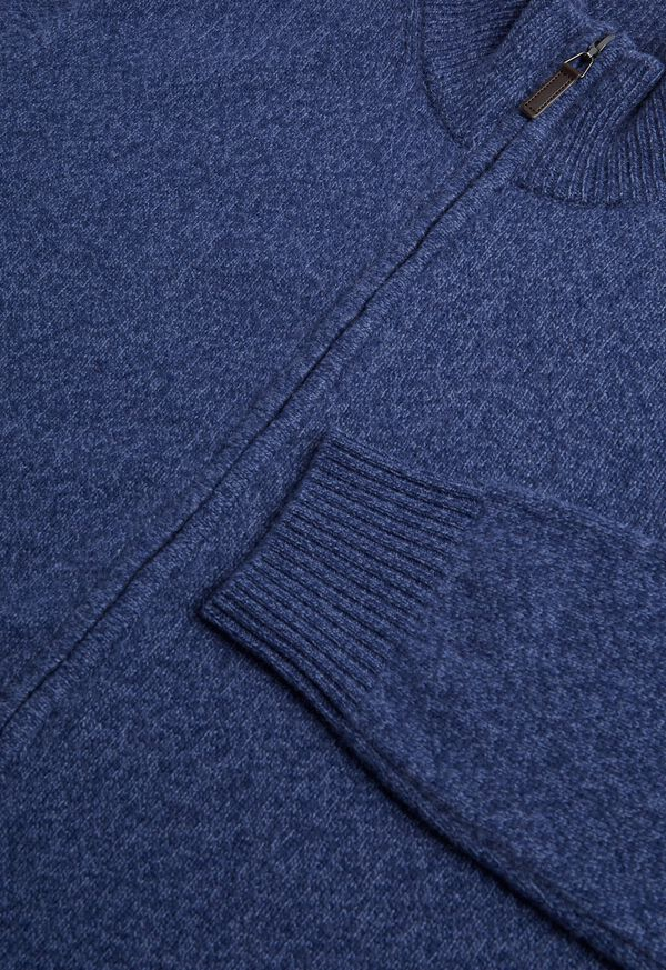 Full Zip Moulinee Cardigan, image 2