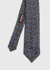 Tossed Paisley Tie, thumbnail 1