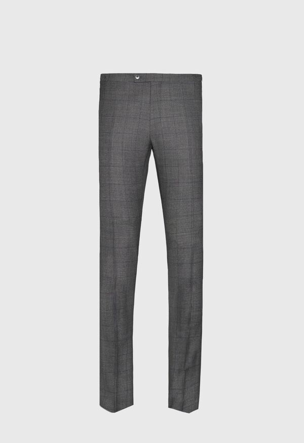Grey Nailhead Double Breasted Suit, image 5