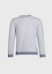 Marled Crew Neck Sweater, thumbnail 1