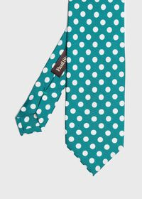 Large Dot Silk Tie, thumbnail 1