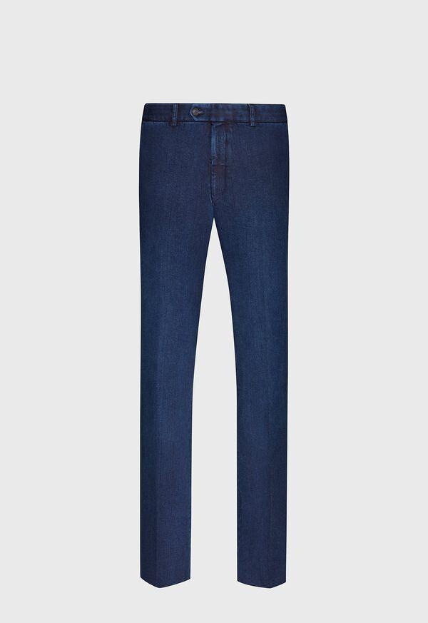 Classic Denim Solid Pant, image 1