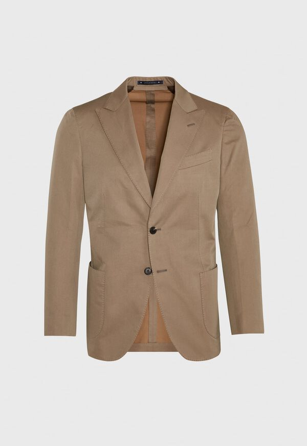 Solid Soft Constructed Sport Jacket, image 1