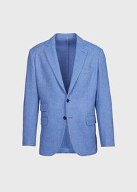 Solid Wool Soft Constructed Jacket, thumbnail 1