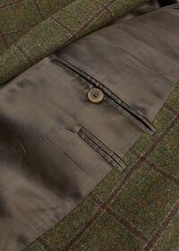 Green with Burgundy Windowpane Sport Jacket, thumbnail 3