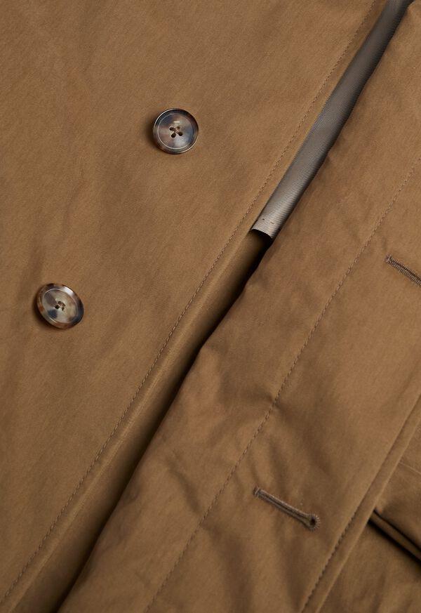 Tan A-Line Rain Coat, image 3