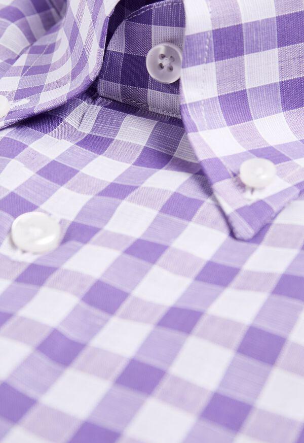 Oversize Gingham Sport Shirt, image 2