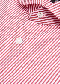 Stripe Round Collar Dress Shirt, thumbnail 2