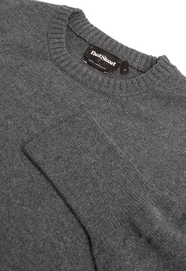 Scottish Cashmere Crewneck Sweater, image 2