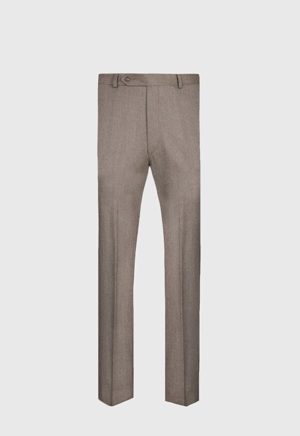 Super 120s Mink Flannel Trouser, image 1