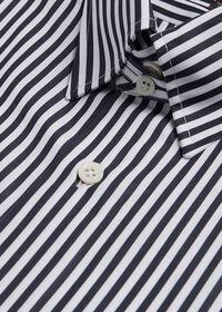 Black And White Stripe Dress Shirt, thumbnail 2