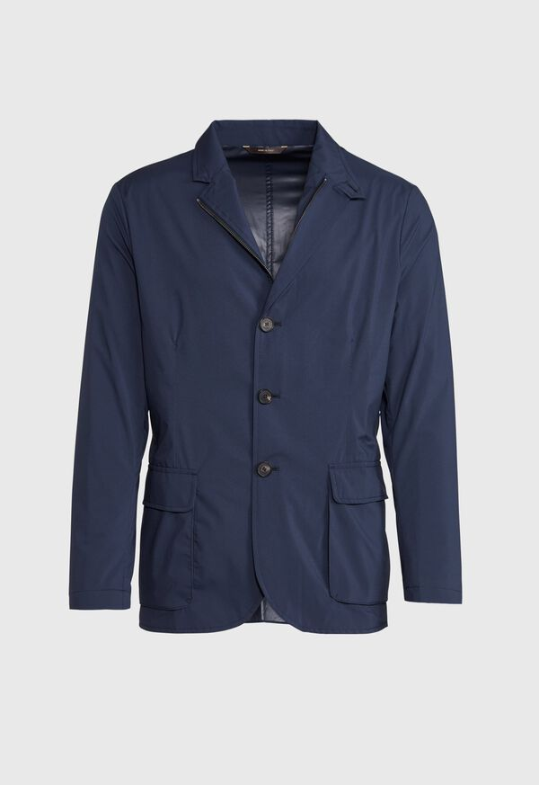 Navy Packable Jacket, image 1