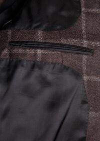 Wool Deco Windowpane Sport Jacket, thumbnail 3