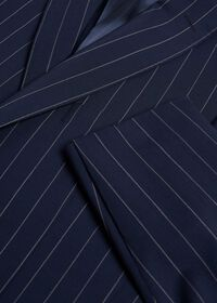 Navy and White Stripe Travel Suit, thumbnail 2