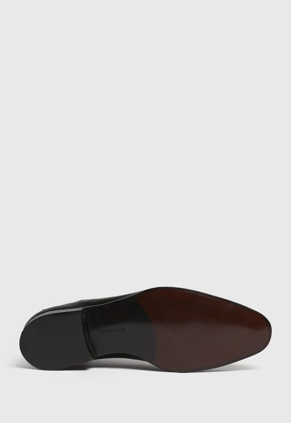 Chestnut Leather Half Chelsea Boot, image 5