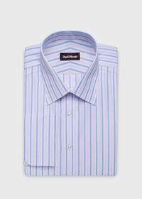 Striped Cotton Dress Shirt, thumbnail 1