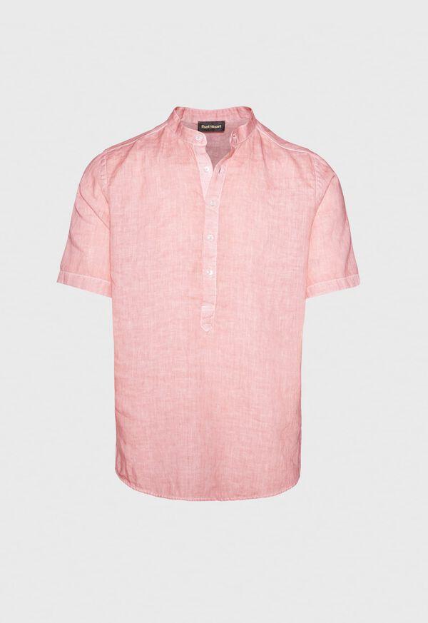Linen Short Sleeve Popover, image 1