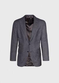 Grey Micro Weave Super 180s Wool Suit, thumbnail 3