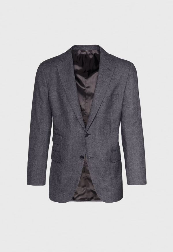 Grey Micro Weave Super 180s Wool Suit, image 3