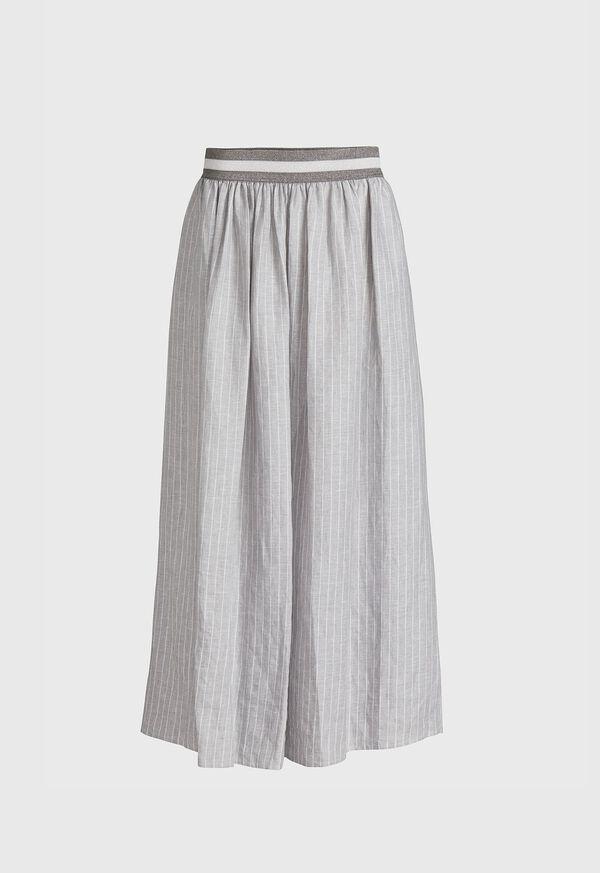 Fine Line Stripe Skirt, image 1