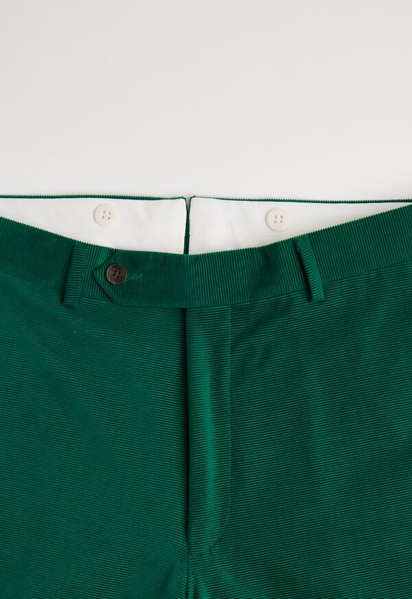 Green Horizontal Corduroy Pant, image 2
