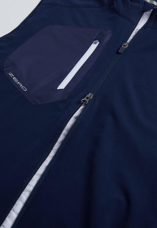 Navy Full Zip Vest, image 2