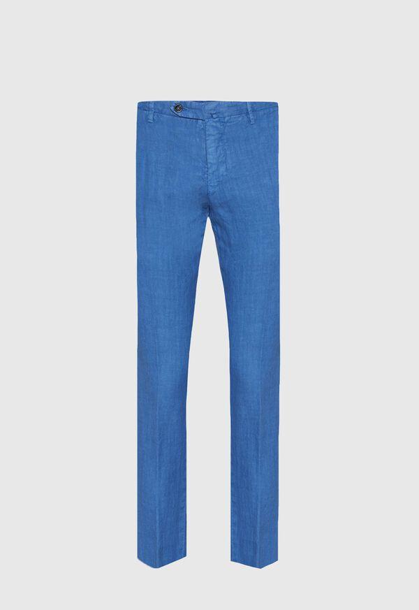 Linen Garment Dyed Pant, image 1