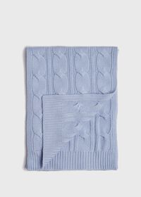 Cashmere Cable Knit Scarf, thumbnail 1