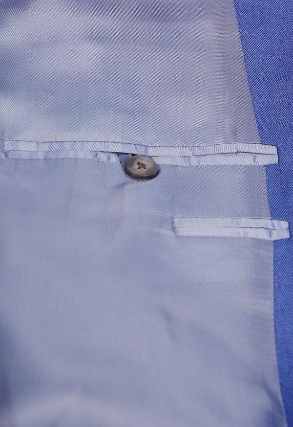Solid Cashmere Silk Sport Jacket, image 3