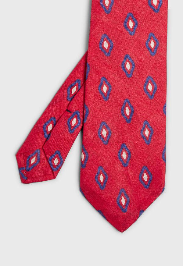 Printed Deco Diamond Tie, image 1